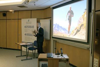 Conférence organisée sur le thème « Comment le sport inspire l'entreprise ? » dans le cadre des Matinales du Groupe IGS