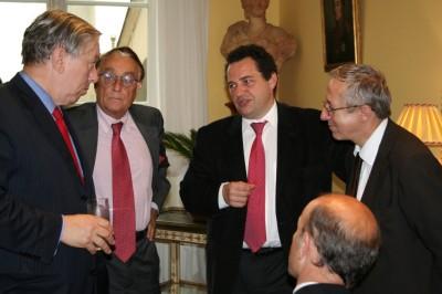 Jean-Paul Charié, Député du Loiret ; Jacques Perrilliat ; Jean-Frédéric Poisson, Député des Yvelines