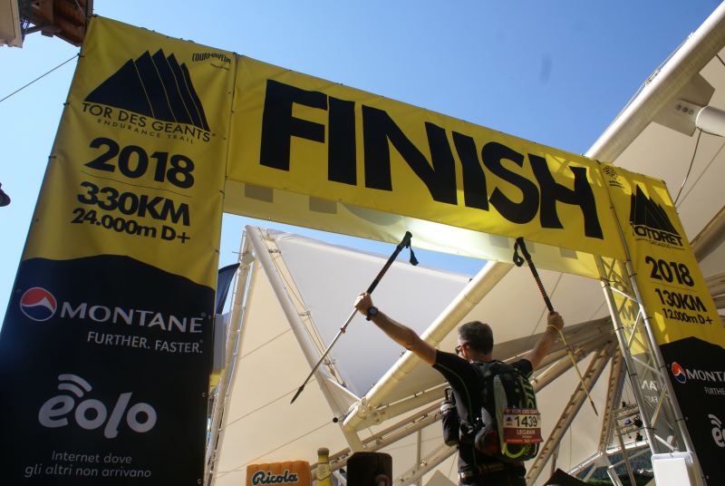 Finisher du Tor 2018
