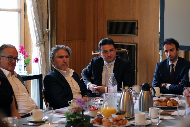 Petit-déjeuner du Club de l'Audace avec Jean-Pierre FARANDOU