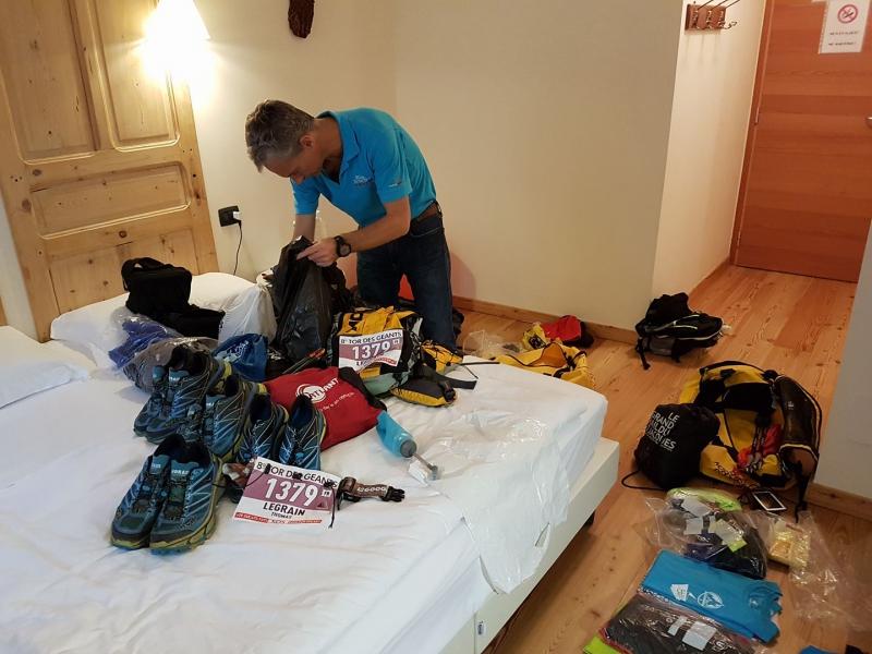 Derniers préparatifs avant le départ