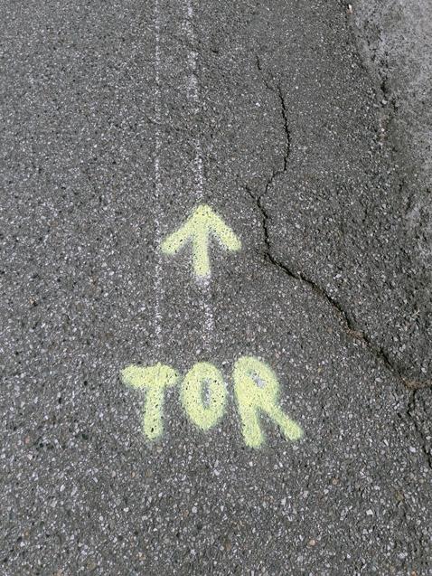 Le Tor, c'est par ici
