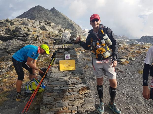 Passage du col Passo Alto (2837m)