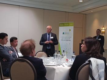 Petit déjeuner organisé à Bruxelles pour évoquer les atouts fiscaux du département des Ardennes