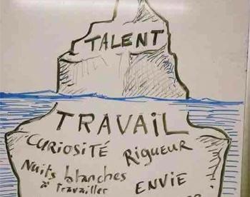 Pour atteindre ses objectifs, il ne suffit pas d'avoir du talent