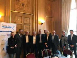 22 mars 2018 : petit-déjeuner du Club de l'Audace avec Bernard CAIAZZO, Président du Conseil de Surveillance et actionnaire principal de l'AS Saint-Etienne ; Vice-président de la Ligue de Football Professionnel (LFP)