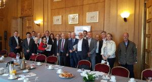 5 juin 2018 : petit-déjeuner du Club de l'Audace avec Yazid CHIR, Président et co-fondateur de l'association « NQT – Nos Quartiers ont des Talents », Président et co-fondateur de Be-Bound