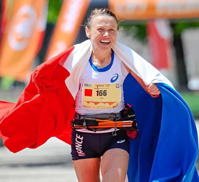 Nathalie MAUCLAIR, double championne du monde de trail