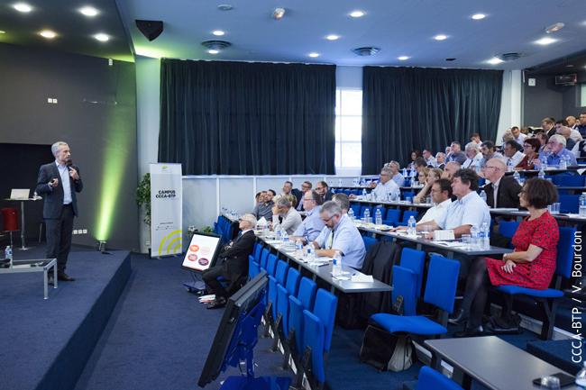 Conférence dans le cadre du Campus CCCA-BTP : « Comment vous aider à gérer des efforts de long terme et atteindre des objectifs ambitieux »