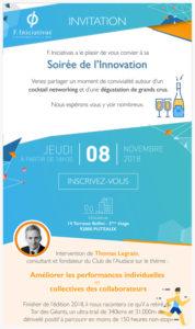 Conférence n°3/3 chez F-Iniciativas, animée par Thomas Legrain, finisher du Tor des Géants 2018 – « Améliorer les performances individuelles et collectives des collaborateurs »