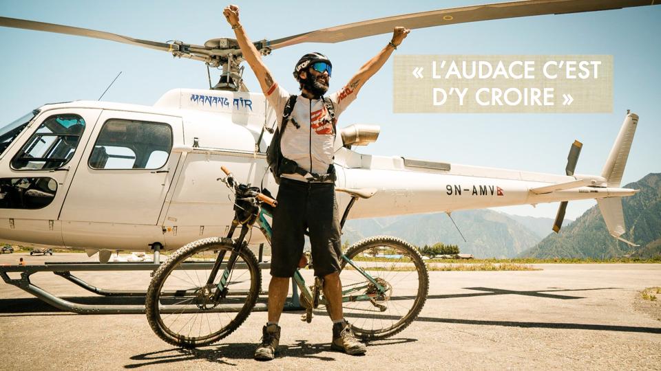 Stéven LE HYARIC, Aventurier qui a notamment traversé l'Himalaya d'Est en Ouest à vélo (1ère mondiale), ancien cycliste Elite